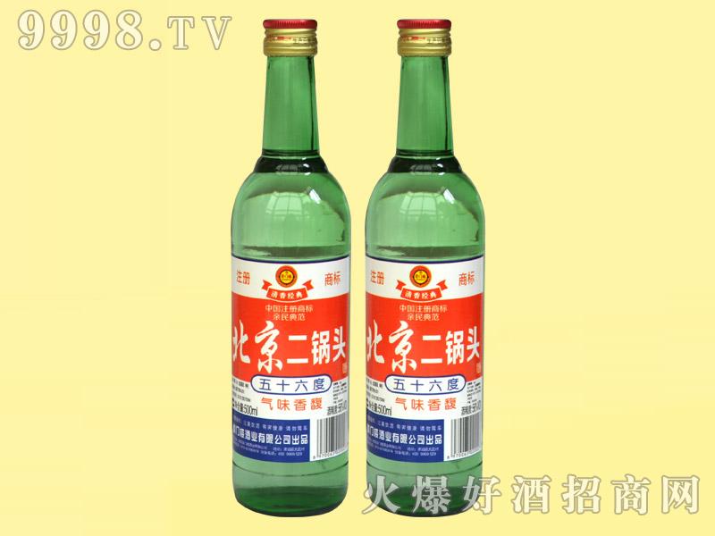 崇门楼北京二锅头酒56°500ml