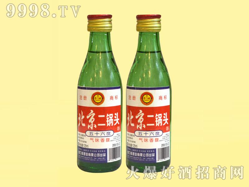 崇门楼北京二锅头酒56°125ml