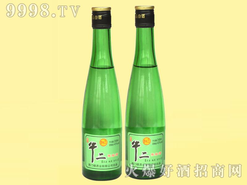牛二陈酿酒43°248ml・绿瓶