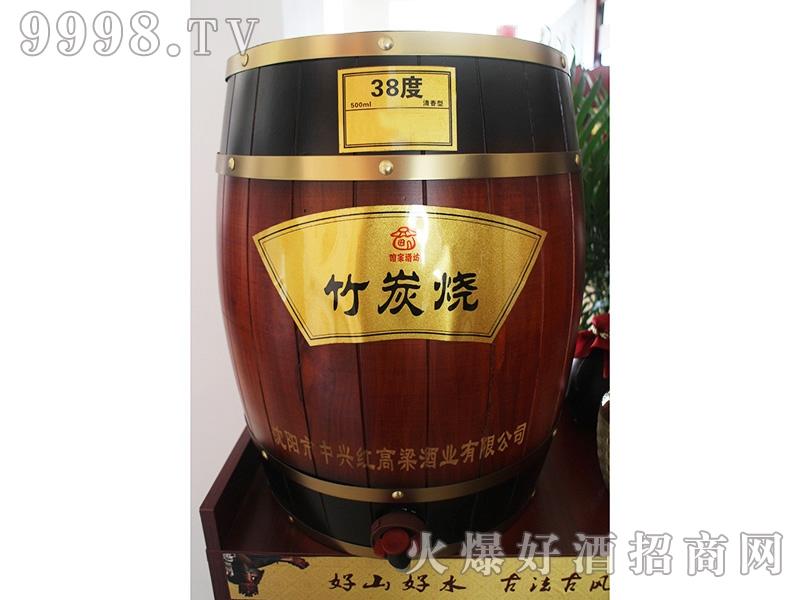 红高粱酒竹炭烧38度