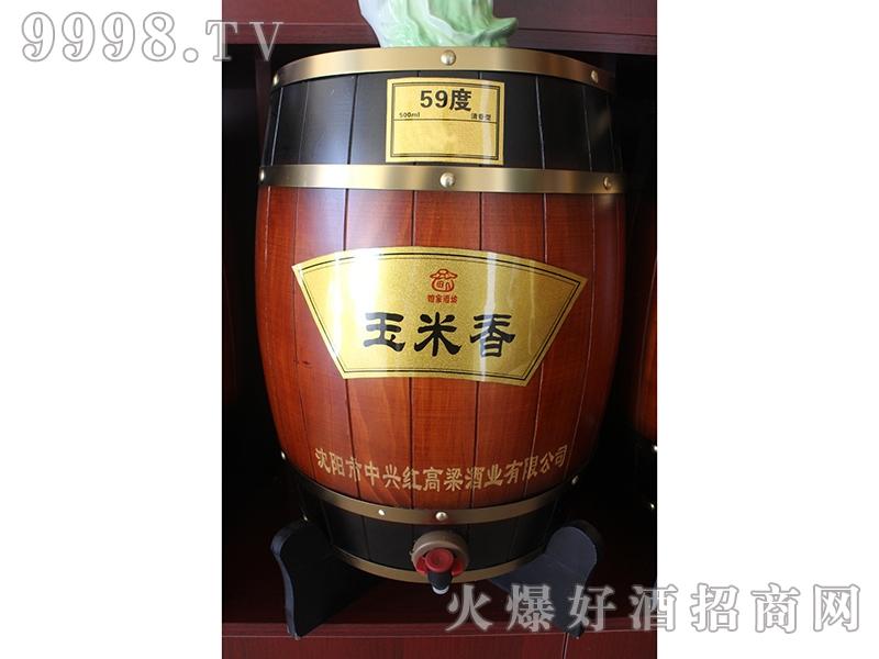 红高粱酒玉米香59度
