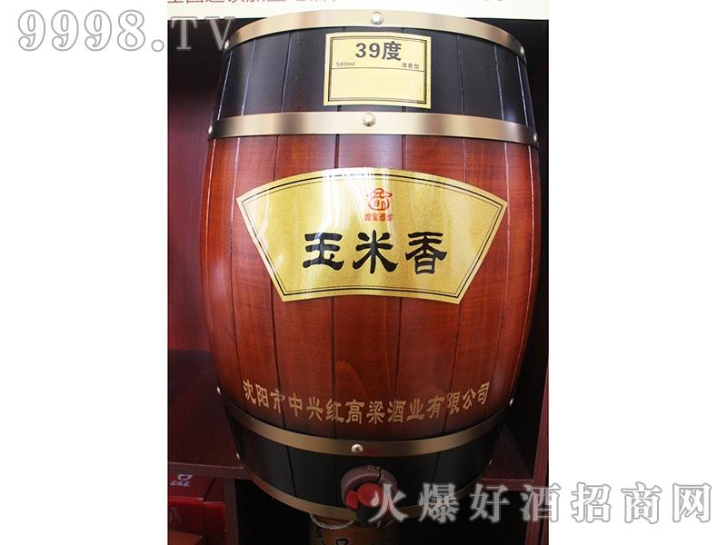 红高粱酒玉米香39度