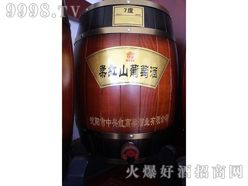红高粱酒柔红山葡萄酒7度