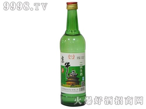 京牛二二锅头酒绿瓶
