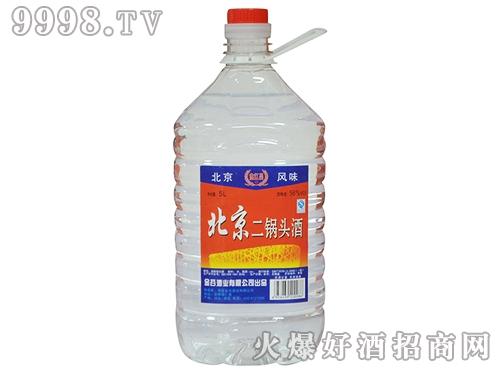 金红昌北京二锅头酒56°5L桶装