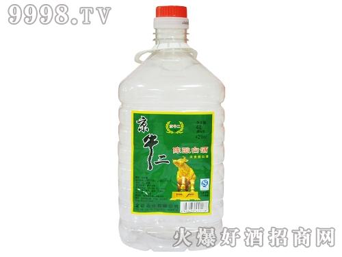 京牛二陈酿白酒42°4L