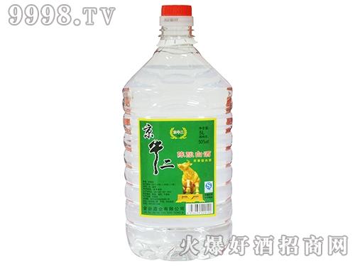 京牛二陈酿白酒50°5L