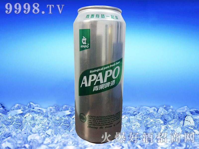 美国蓝带青果啤酒500ml易拉罐