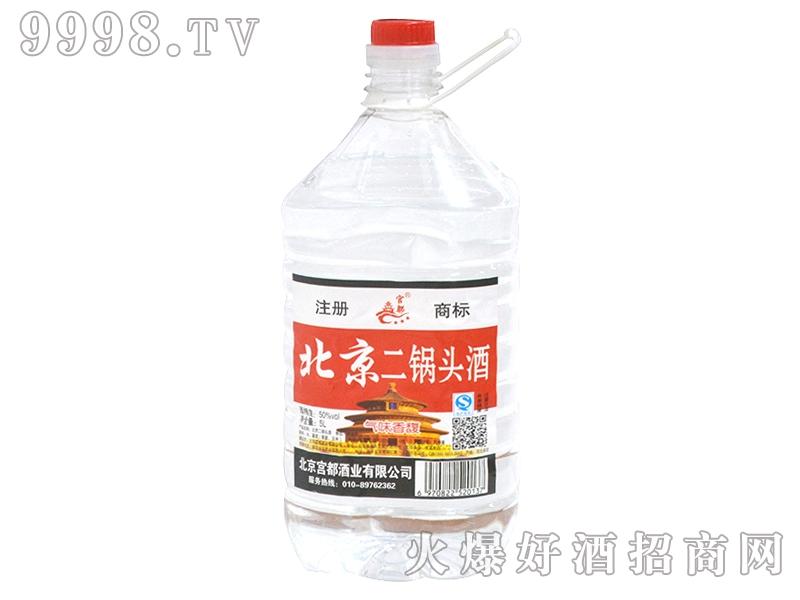 北京二锅头酒50度5L桶装