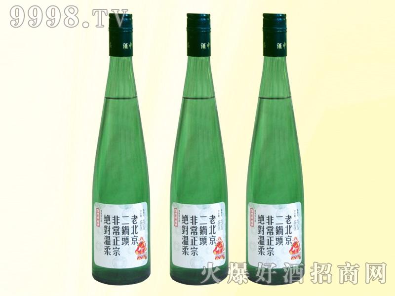 老北京二锅头酒绿瓶42度480ml
