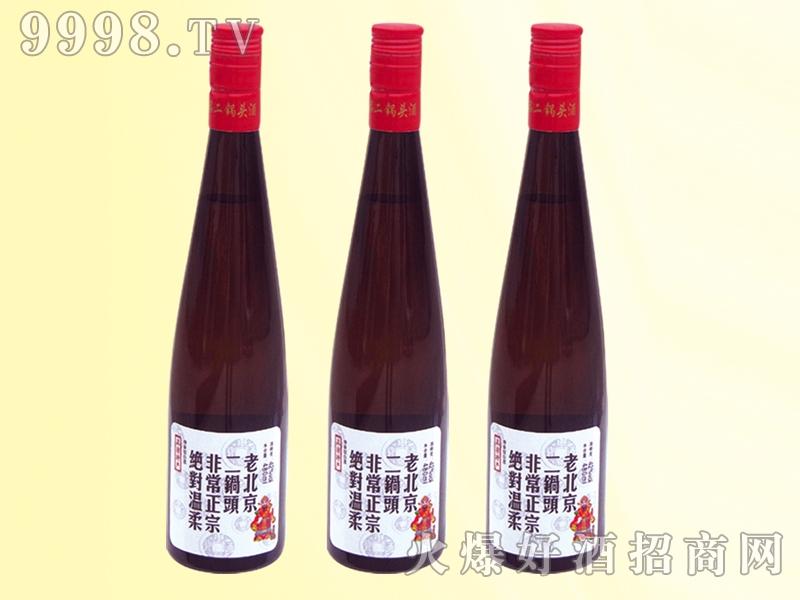 老北京二锅头酒灰瓶42度480ml