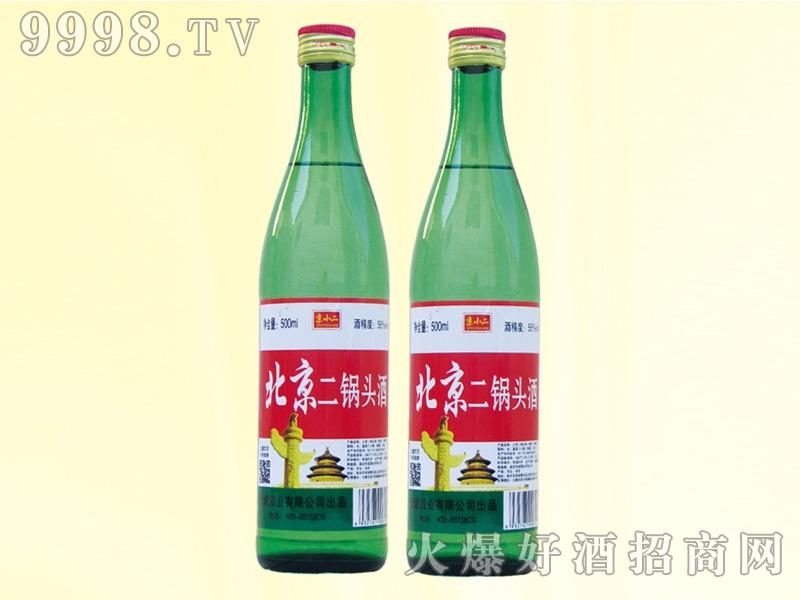 京小二二锅头酒56度500ml绿瓶