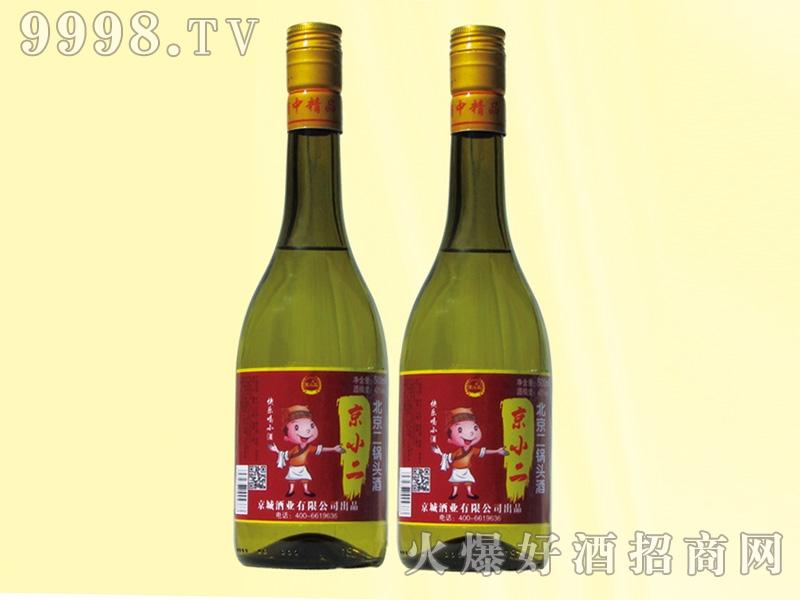 京小二二锅头酒42度500ml青瓶
