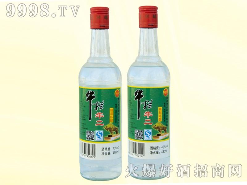 牛拦牛二陈酿酒43度490ml
