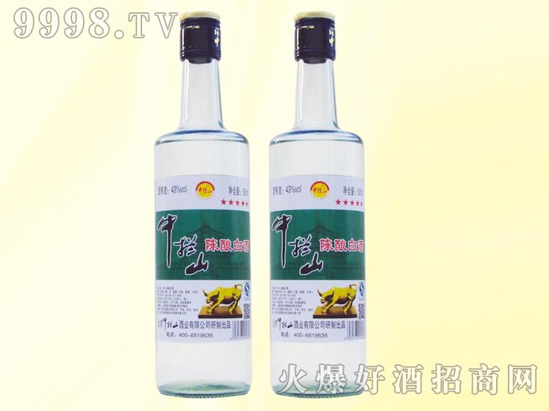 中拦山酒43度500ml白瓶