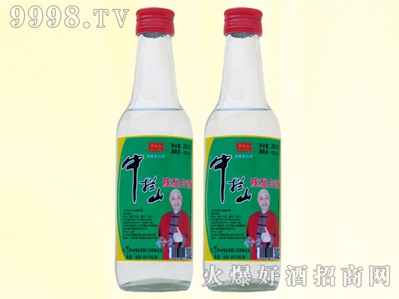 中拦山酒陈酿白酒42度260ml白瓶
