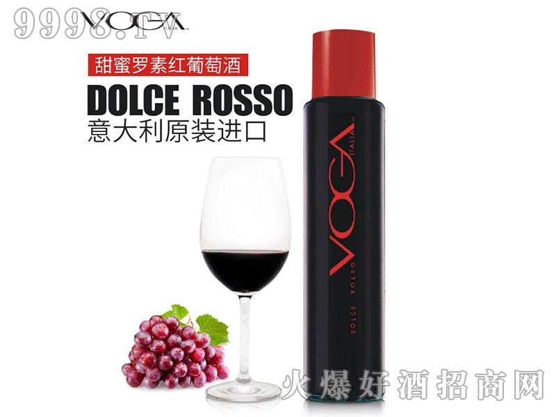 沃嘉意大利进口 DOLCE ROSSO甜蜜罗素白葡萄酒