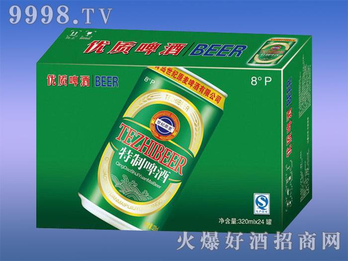 世纪原麦优质啤酒2号8度