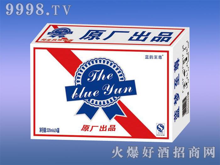 蓝韵至尊啤酒原厂纯生风味8度