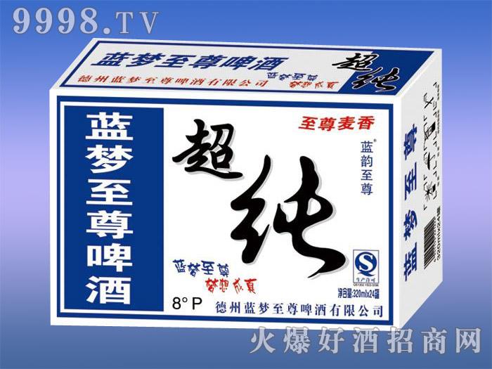 蓝韵至尊蓝超纯啤酒8度