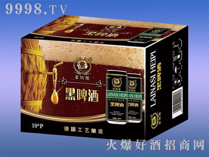 莱纳斯黑啤酒10度500ml×12罐