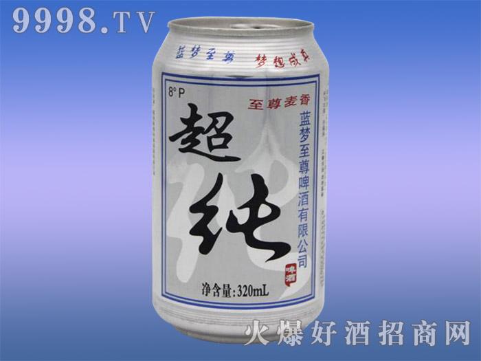 蓝韵至尊超纯啤酒8度320ml