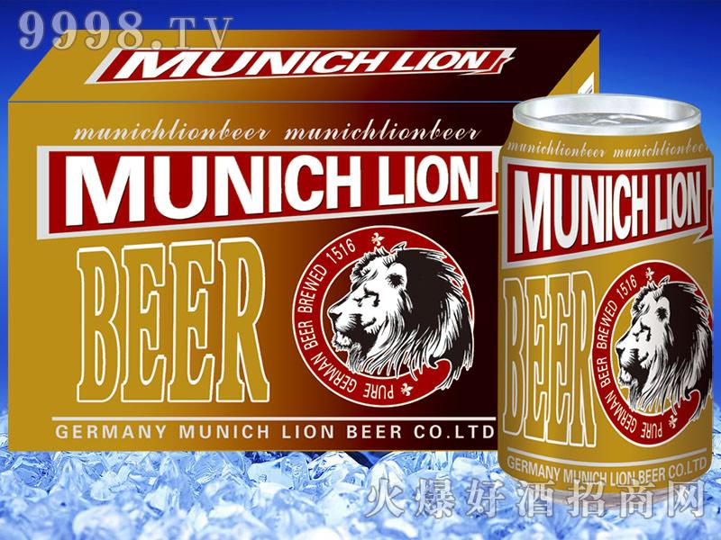 黑狮啤酒黄罐330mlx24听