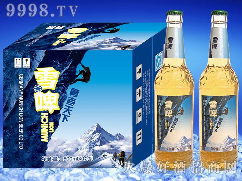 慕尼黑狮雪啤勇者天下500mlx12瓶
