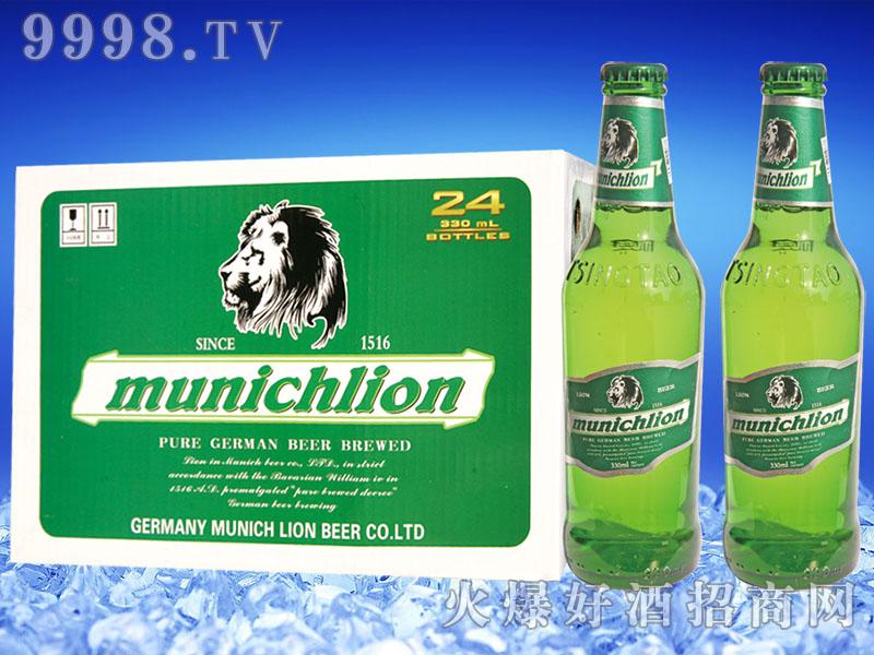 慕尼黑狮munichlion啤酒330mlx24瓶