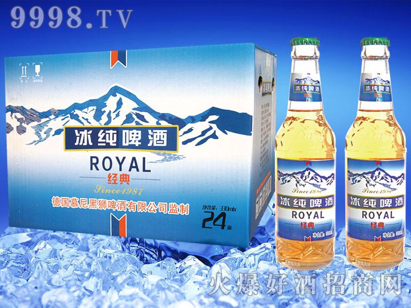 慕尼黑狮冰纯(经典1987)啤酒330mlx24瓶
