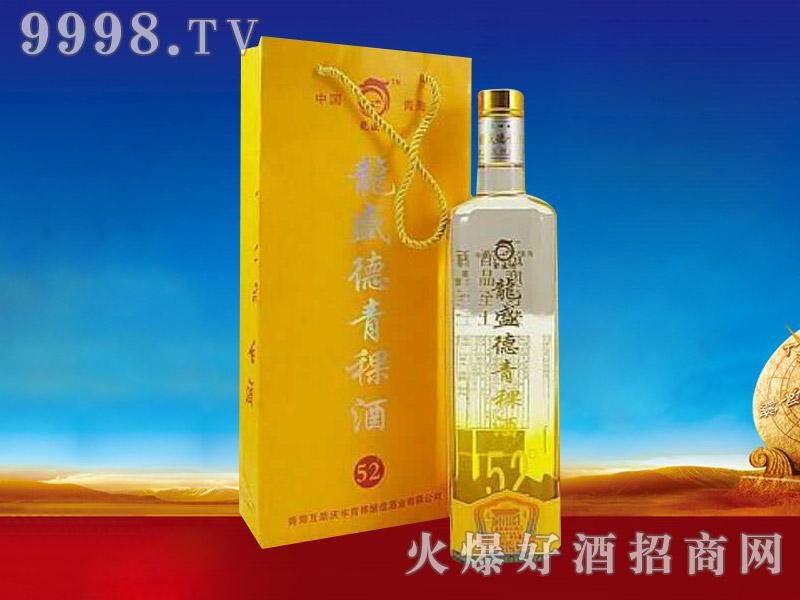 龙盛德青稞酒52度