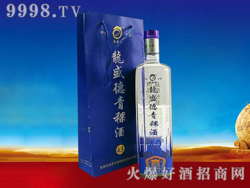 龙盛德青稞酒43度