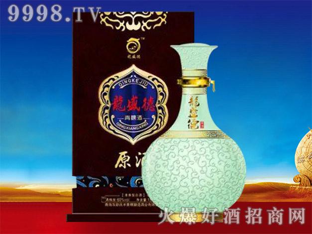 龙盛德青稞酒原酒(咖)