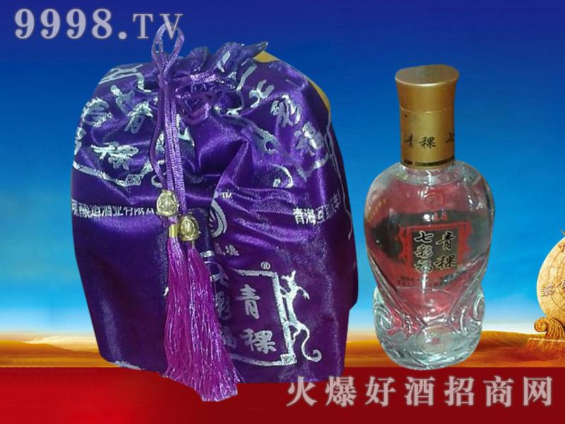 七彩福青稞酒布袋