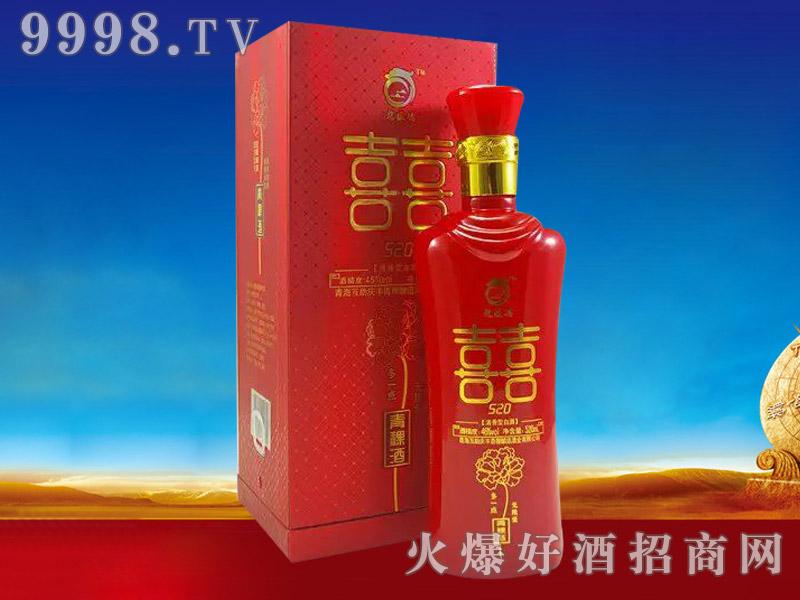 龙盛德青稞酒喜酒520