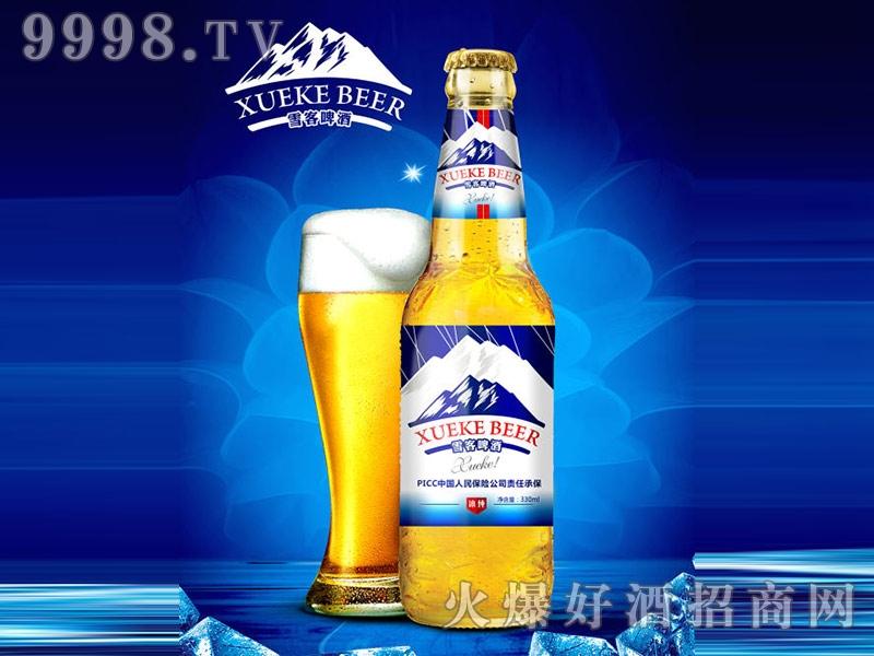 雪客啤酒冰纯330ml