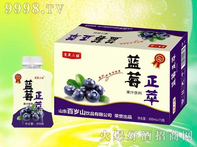 蓝莓正萃果汁饮料
