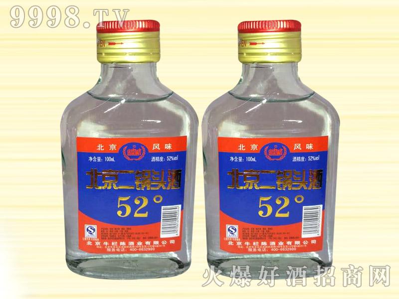 土郎中北京二锅头酒52度100ml(蓝标)