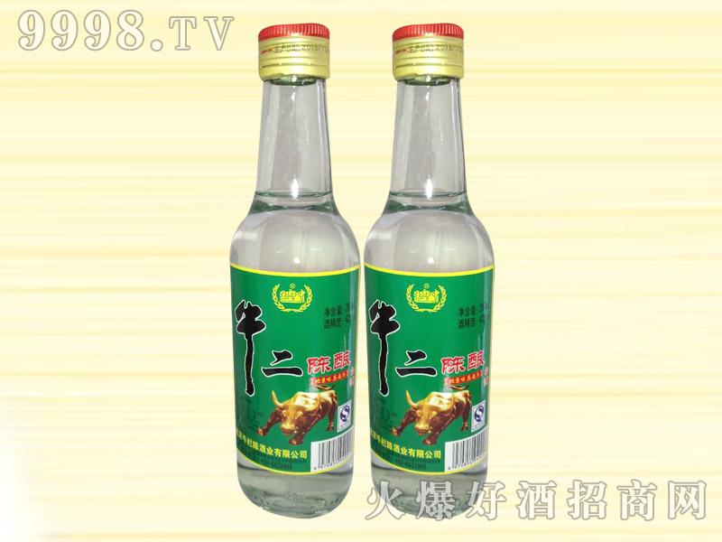 土郎中牛二陈酿白酒42度260ml