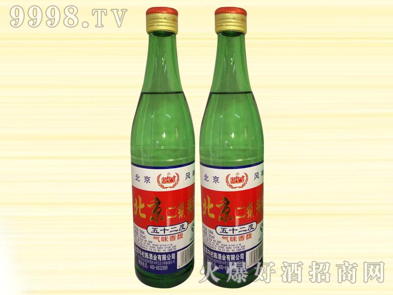 土郎中北京二锅头酒52度500ml(绿)