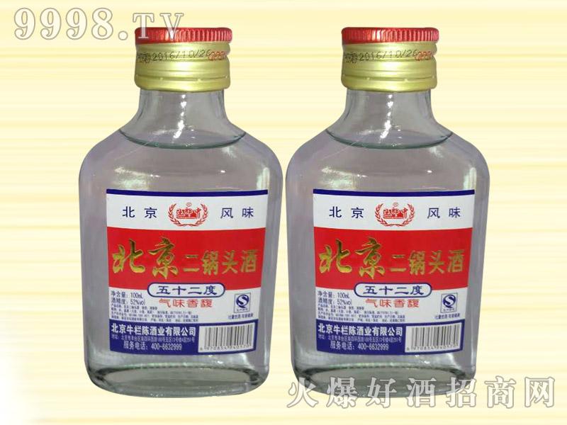 土郎中北京二锅头酒52度100ml(白)