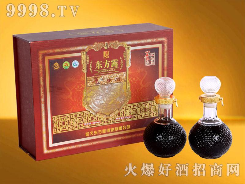 东方露养生酒精装礼盒500ml×2瓶-保健酒招商信息