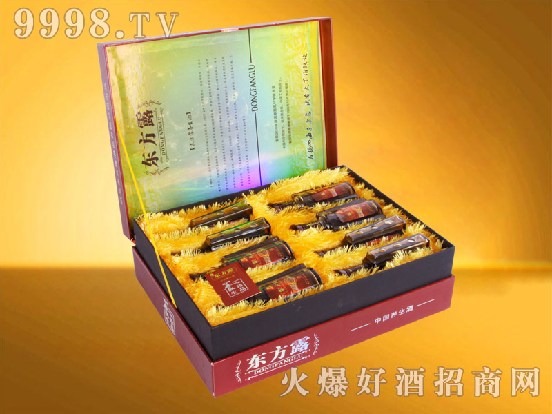 东方露养生酒精装礼盒130ml×8瓶-保健酒招商信息