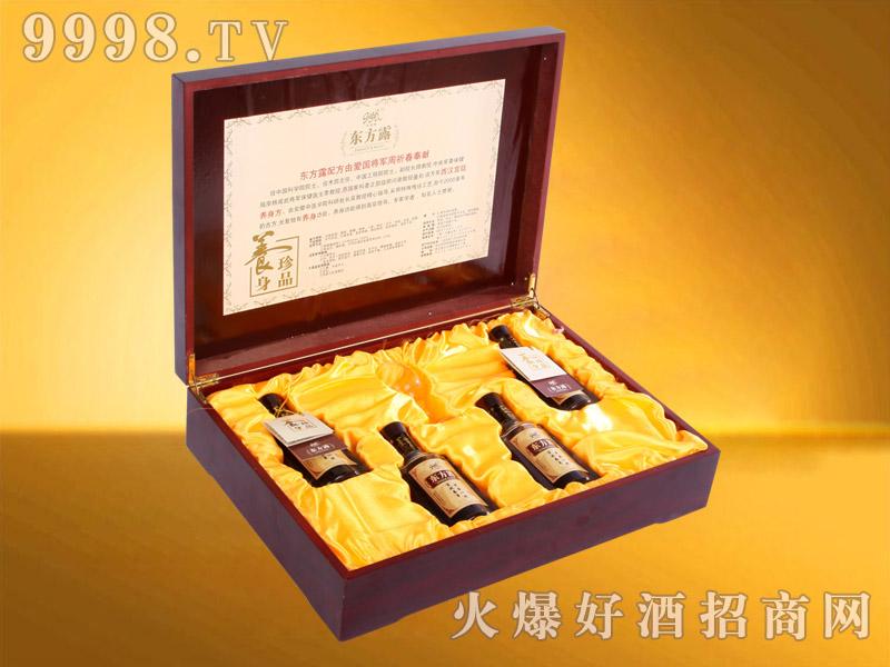 东方露养生酒大礼品盒130ML×4瓶-保健酒招商信息