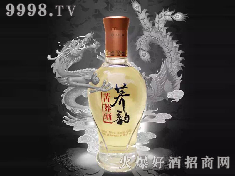 荞韵苦荞酒42°500ml-湖北荞韵酒业有限公司