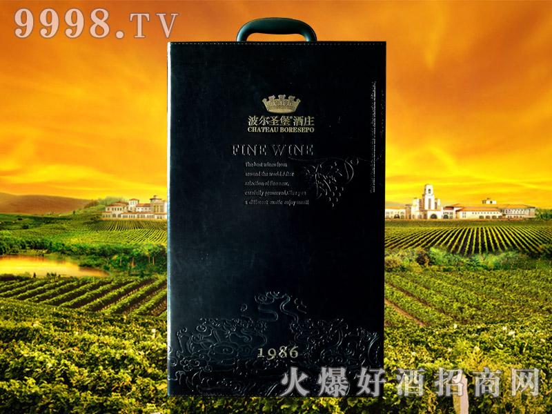 波尔圣堡干红葡萄酒1986 5L皮盒