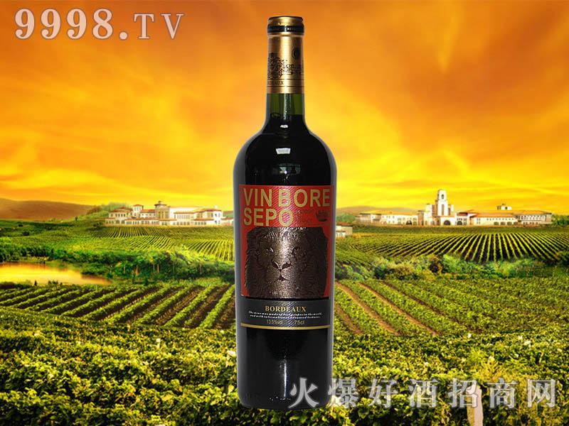 波尔圣堡干红葡萄酒狮王8号瓶2011