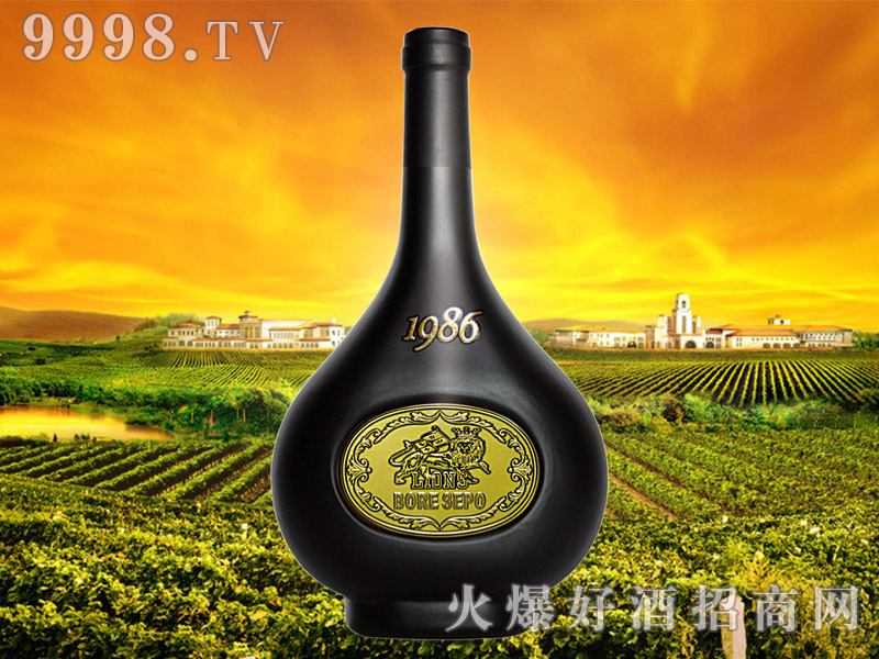 波尔圣堡干红葡萄酒1986(铜)