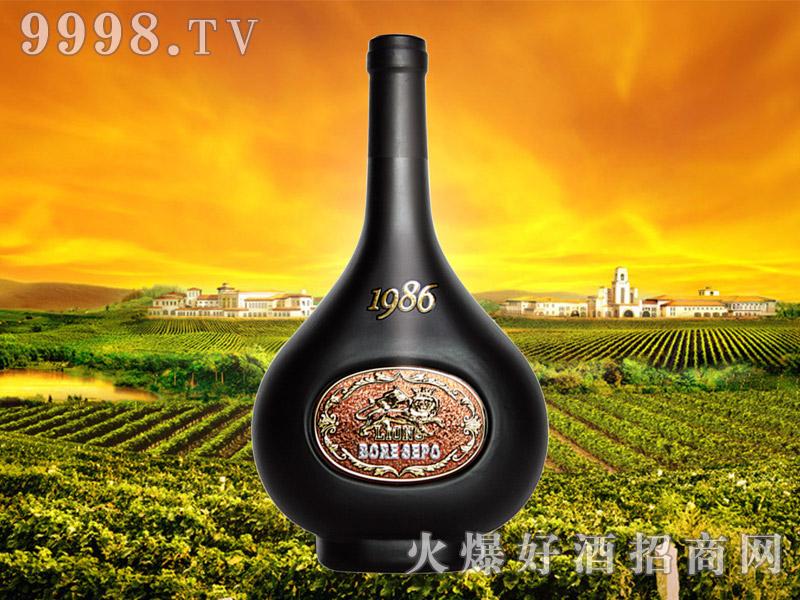 波尔圣堡干红葡萄酒1986