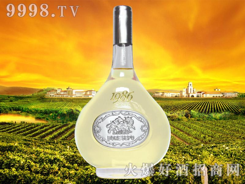 波尔圣堡干白葡萄酒1986